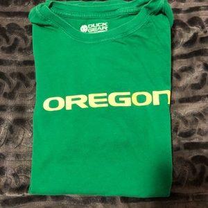 Oregon Ducks t shirt